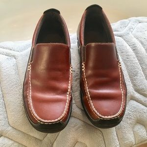 Men Rockport XCS Leather Loafer Shoes